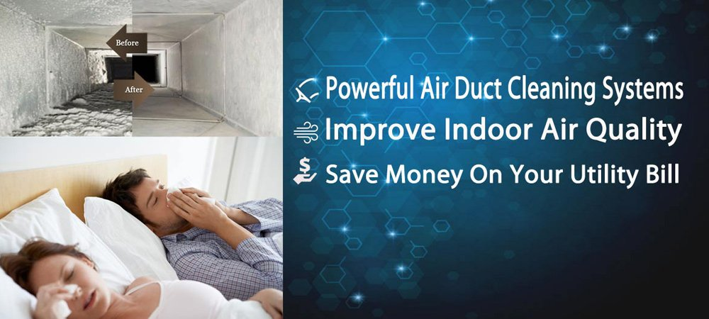 Air duct cleaning systems improve indoor air quality